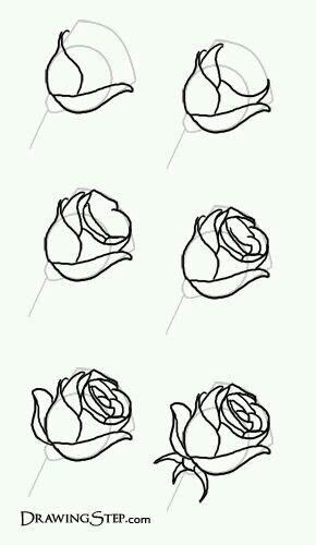 Gul Cizmek Con Immagini Disegni Di Rose Come Disegnare Drawing Lessons