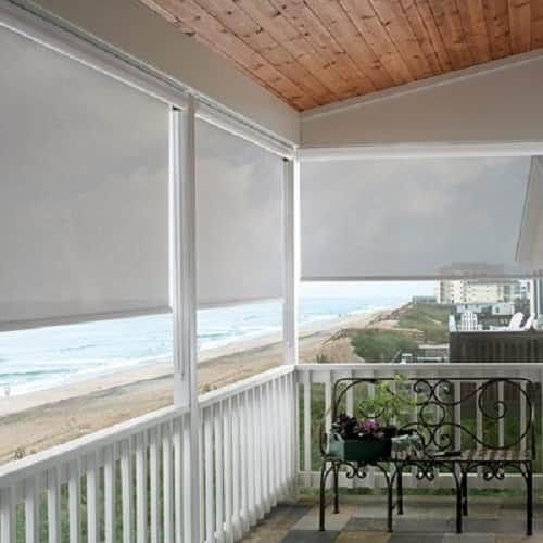 Ideal Outdoor Blinds For Patio That Is Recommended For You Exterior Solar Shade Porch Shades Patio Shade