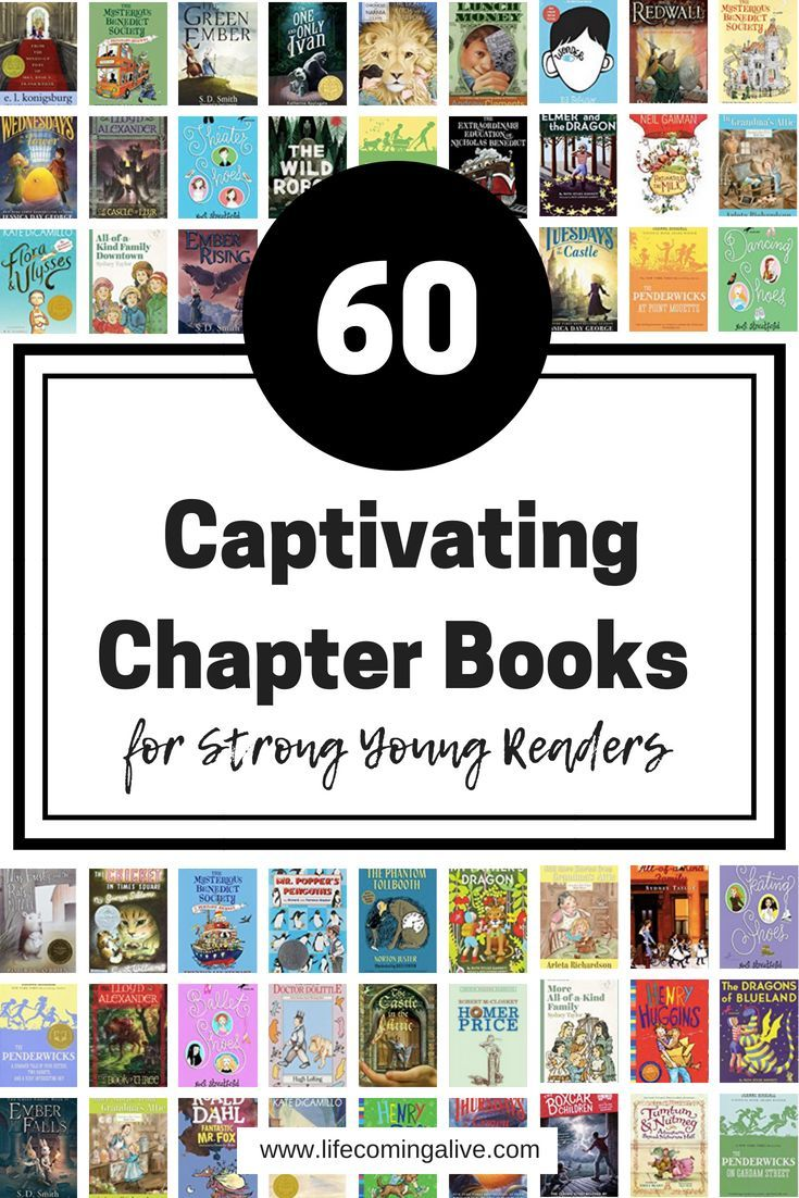 60 Captivating & Challenging Chapter Books for Young ...