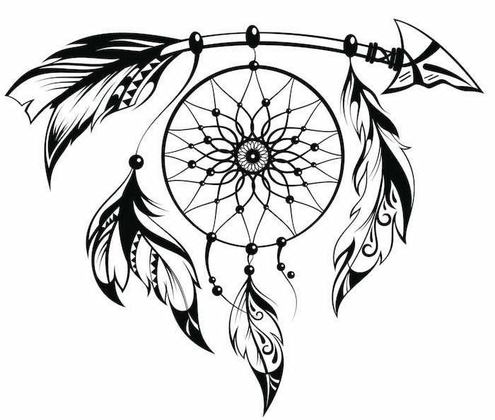 Pin de Arthur Male en Graphic | Pinterest | Atrapasueños, Tatuajes y ...