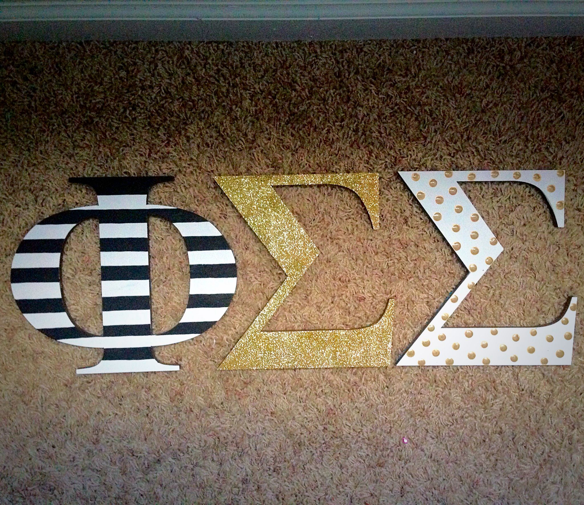 Kate spade themed wooden sorority letters pi beta pi pinterest kate spade themed wooden sorority letters buycottarizona
