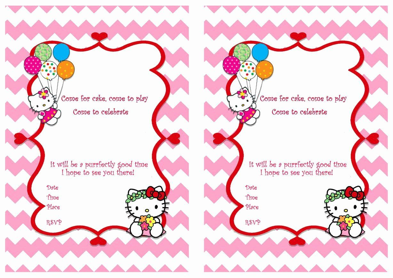 hello kitty printable invitations awesome hello kitty free