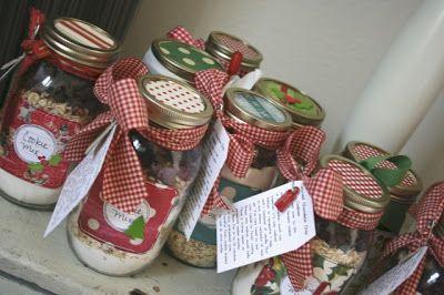 Beautified Mason jars