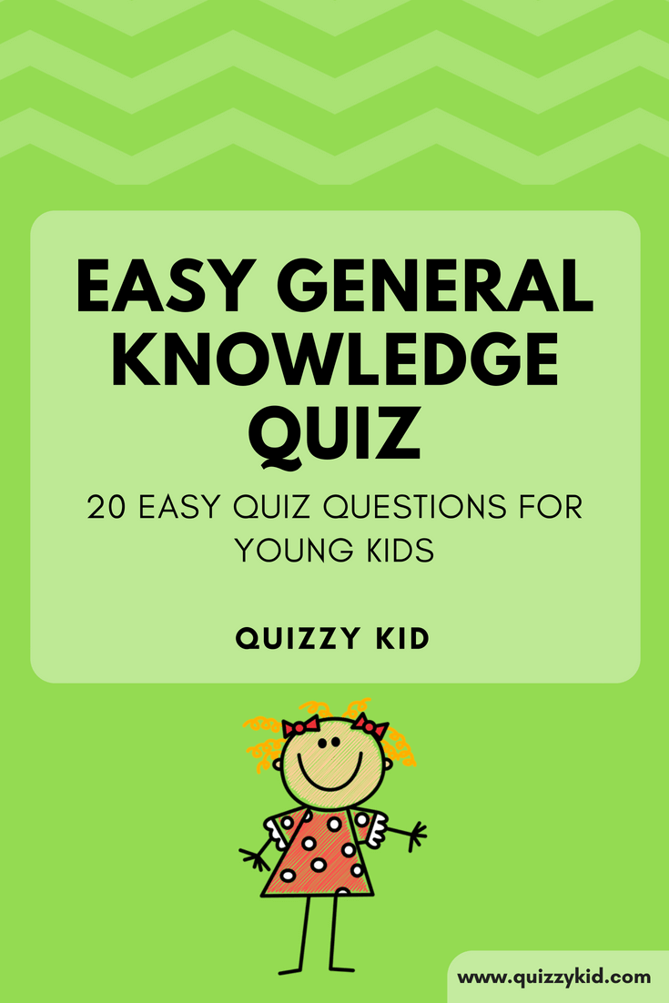 Easy General Knowledge Quiz | Best of Quizzy Kid - Quizzes for Kids
