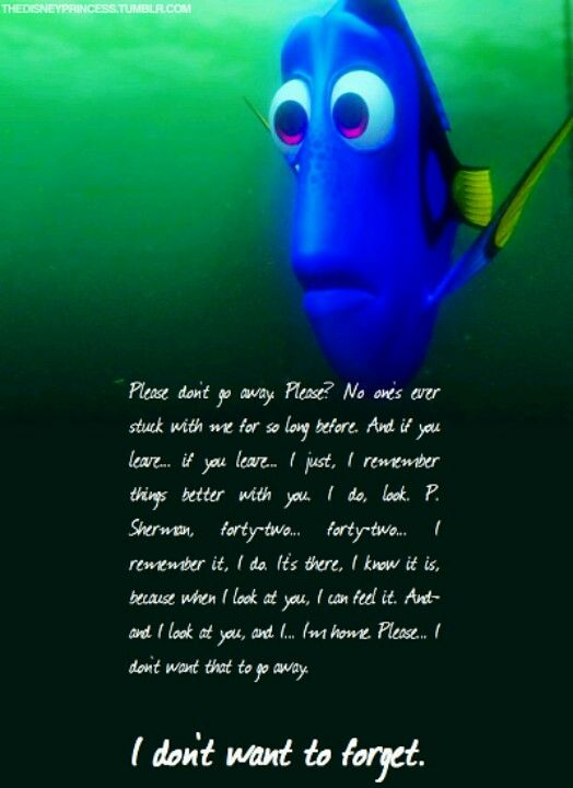 When I look at you i'm home Dory Sad disney, Dory quotes