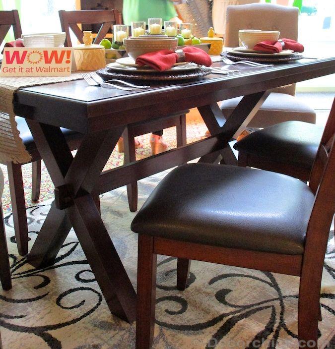Walmart X-bench Table | Decorchick!®