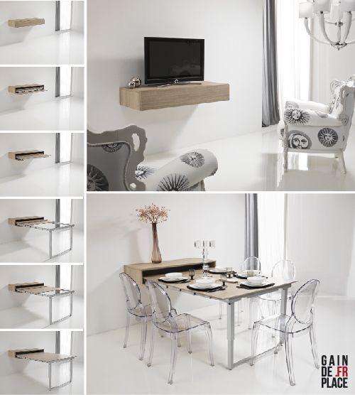 table depliante murale petite maison pinte. Black Bedroom Furniture Sets. Home Design Ideas
