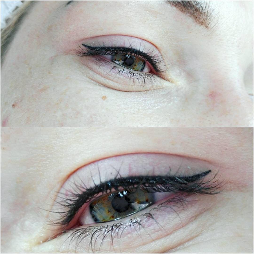 Permanent eyeliner Permanent eyeliner, Permanent makeup