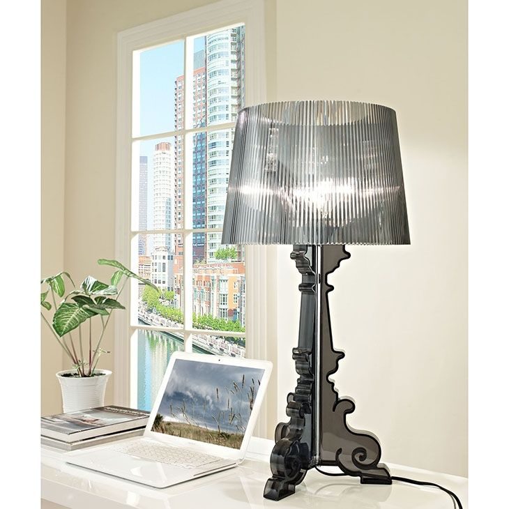 LexMod - French Grand Table Lamp in Black