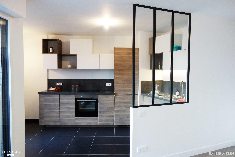 L aménagement de cette cuisine a été con§ut pour la location