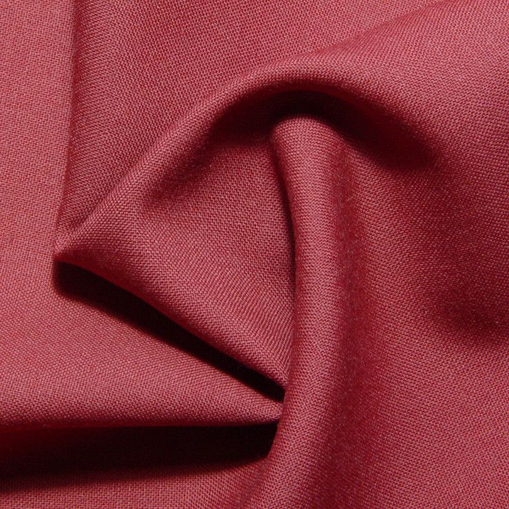 BRIGHT RED Luxury 100/% Boiled Wool Fabric Material