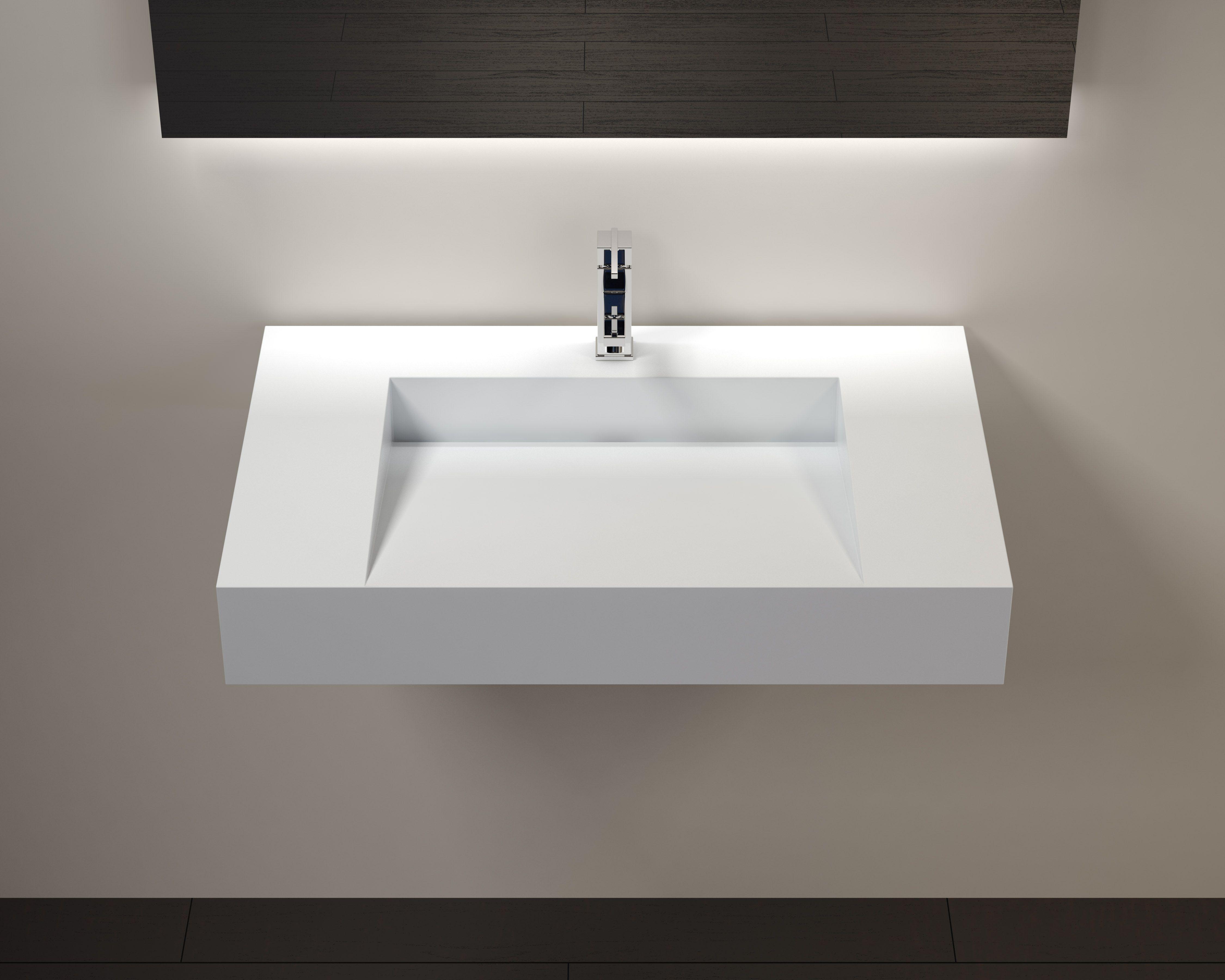 Wall Mounted Sink Wt 04 D Wall Mounted Bathroom Sinks Bathroom