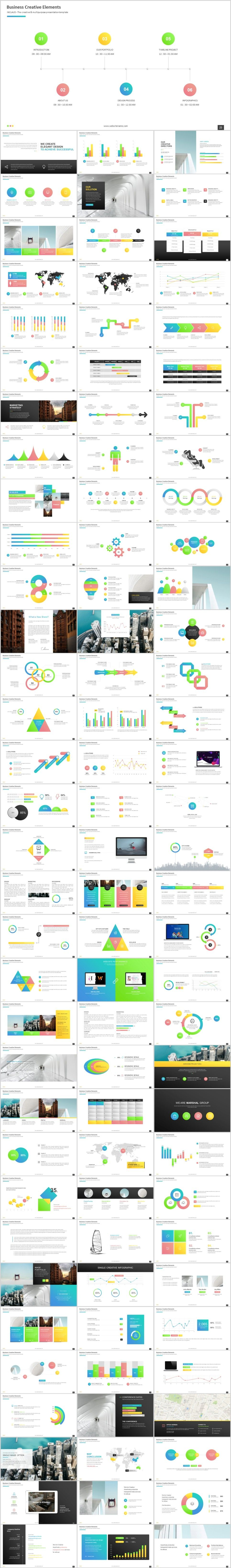 100 best multicolor infographics charts powerpoint template 100 best multicolor infographics charts powerpoint template powerpoint templates presentation animation toneelgroepblik Choice Image