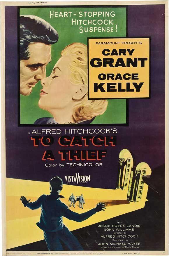 To Catch a Thief 27x40 Movie Poster (1955)   Cartelitos y Cine