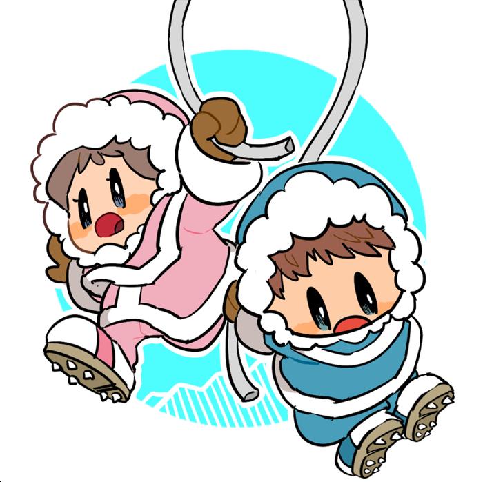 Ice Climbers Smash Bros Super Smash Bros Ice Climber