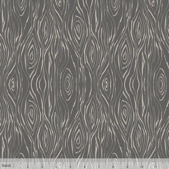 wood fabric wood grain print modern fabric black plank gray modern