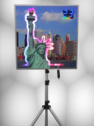 Miss Liberty On The Buzz Wire Quiz Buzzer Systems