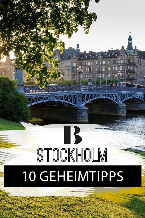 Stockholm 10 Ganz Persönliche Tipps