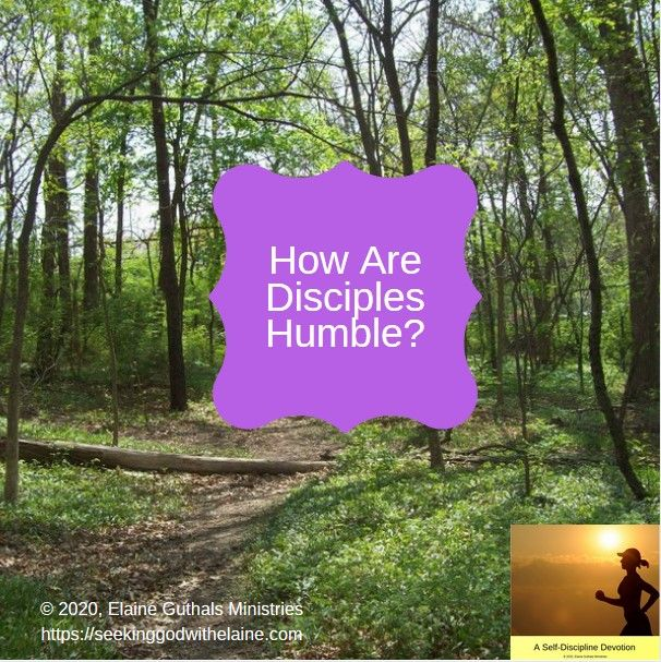 How Are Disciples Humble What does it mean to be spiritually humble as a disciple This devotion discusses being humble being proud and which will inherit the earth