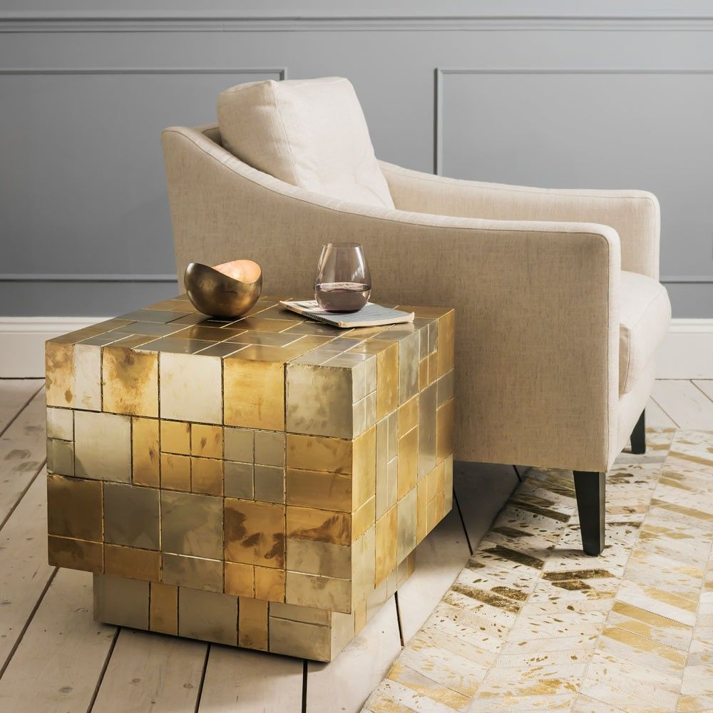 Magpie Side Table With Images Gold Coffee Table Side Table