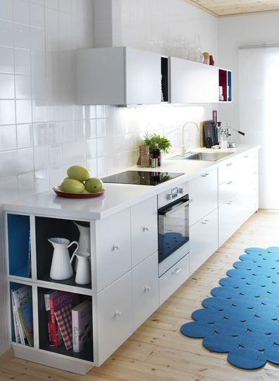 Cuisine Ikea Metod Les Photos Pour Creer Votre Cuisine Designs De Petite Cuisine Remodelage Petite Cuisine Petite Cuisine Moderne