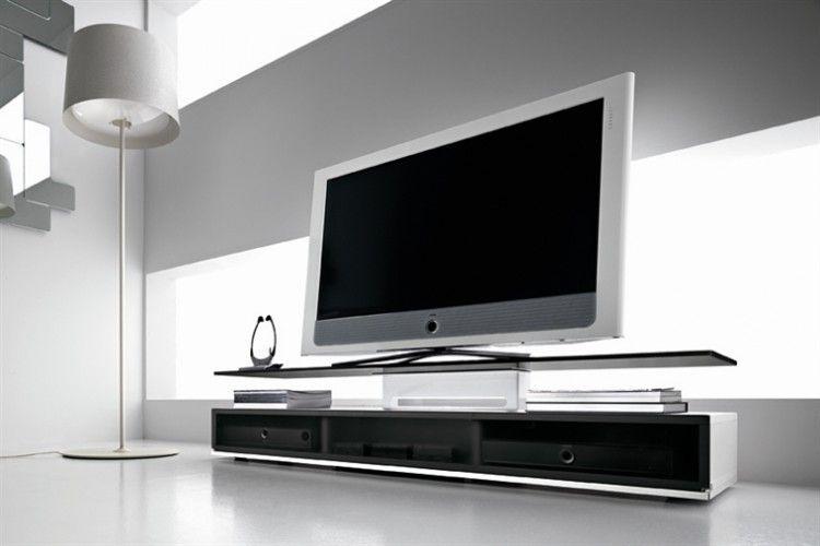 Glazendesigntafel.nl fiam tv meubel met een zwart of wit gelakte
