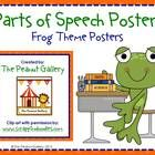 Liven up your classroom with these colorful parts of speech posters with a frog theme!