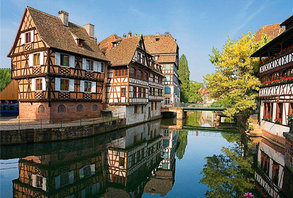 Maravillosa Imagen De Estrasburgo Francia