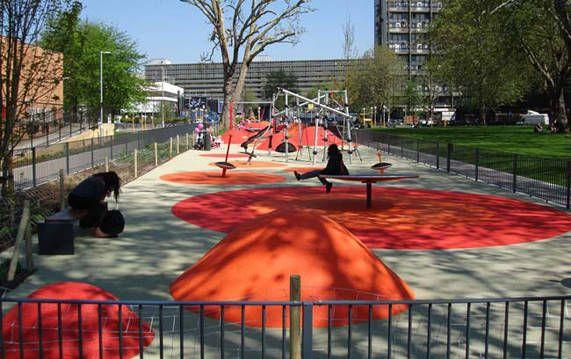 Martha Schwartz Partners Msp Projects Parks Stmarys Landscape Urbanism Playground Design Park Playground