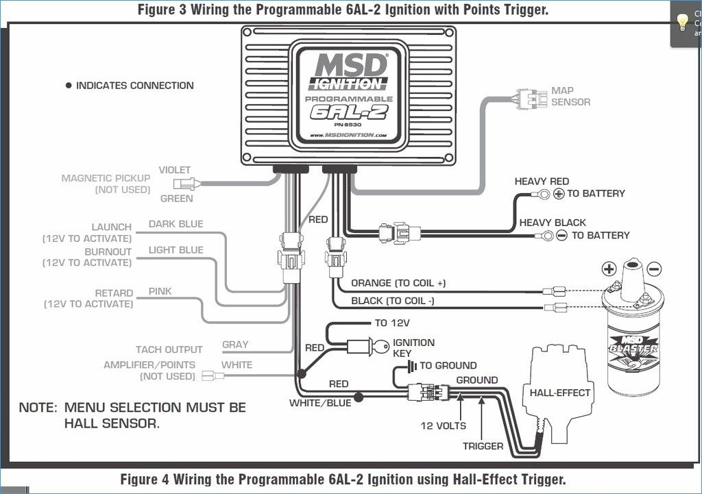 Msd 7al 2 Wiring Diagram Awesome Distributor Agnitum 6al