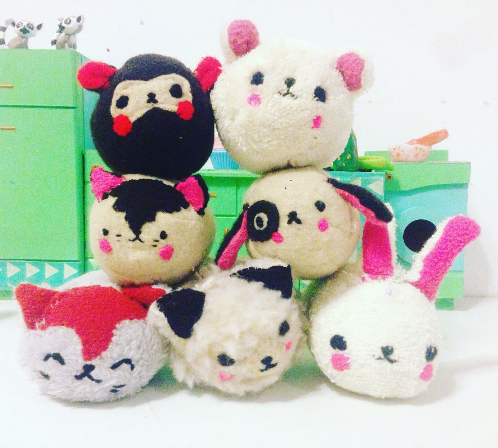 tsum tsum tutorial DIY kawaii handmade doll soft toy for kids :)