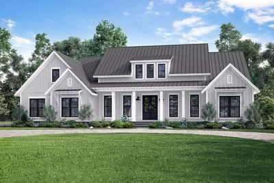 Beautiful Plan 14661RK: Modern Farmhouse With Vaulted Master Suite | Architectural  Design House Plans, Modern Farmhouse And Modern