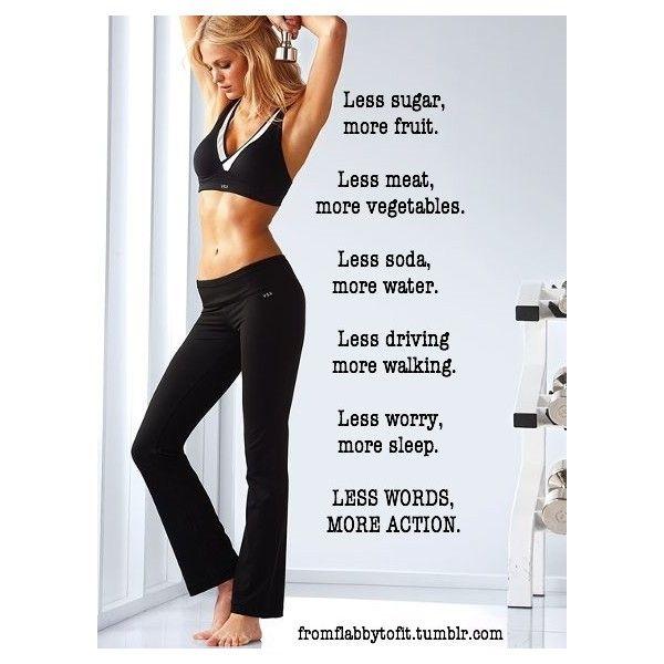 Fitness Inspiration found on Polyvore
