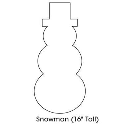 Cutout Snowman | Search Results | New Calendar Template | Holiday ...