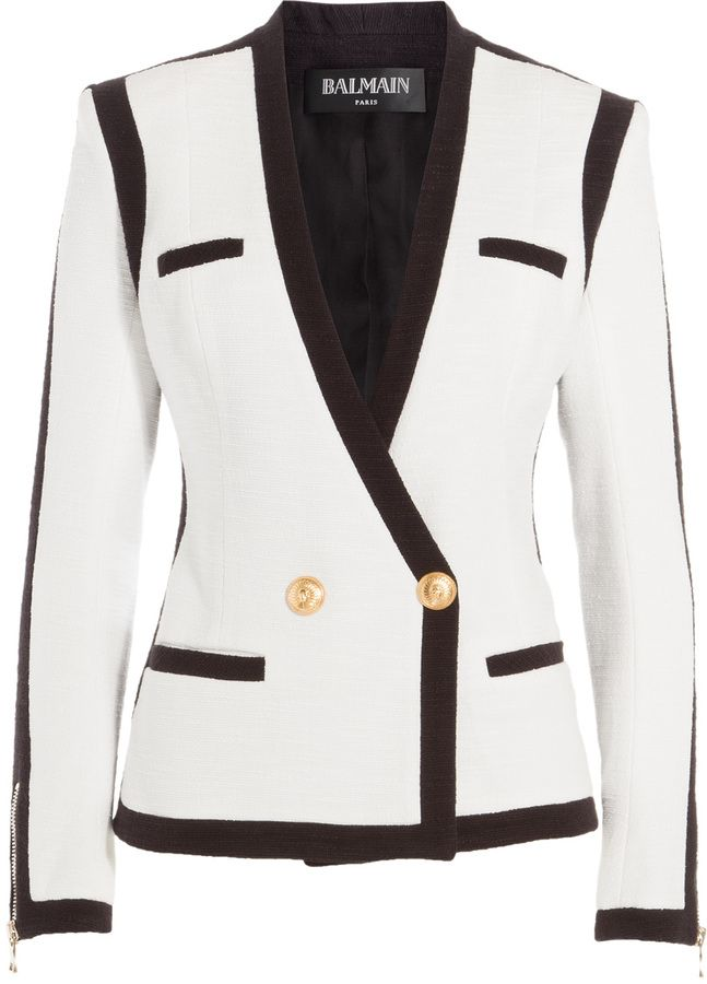 fb0c1be37b76 Balmain Bi-Color Blazer