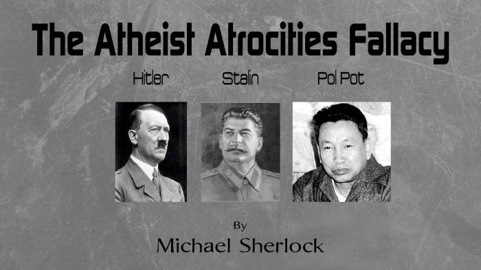 Pol Pot Quotes Unique The Atheist Atrocities Fallacy  Hitler Stalin & Pol Pot  Atheism . Inspiration Design