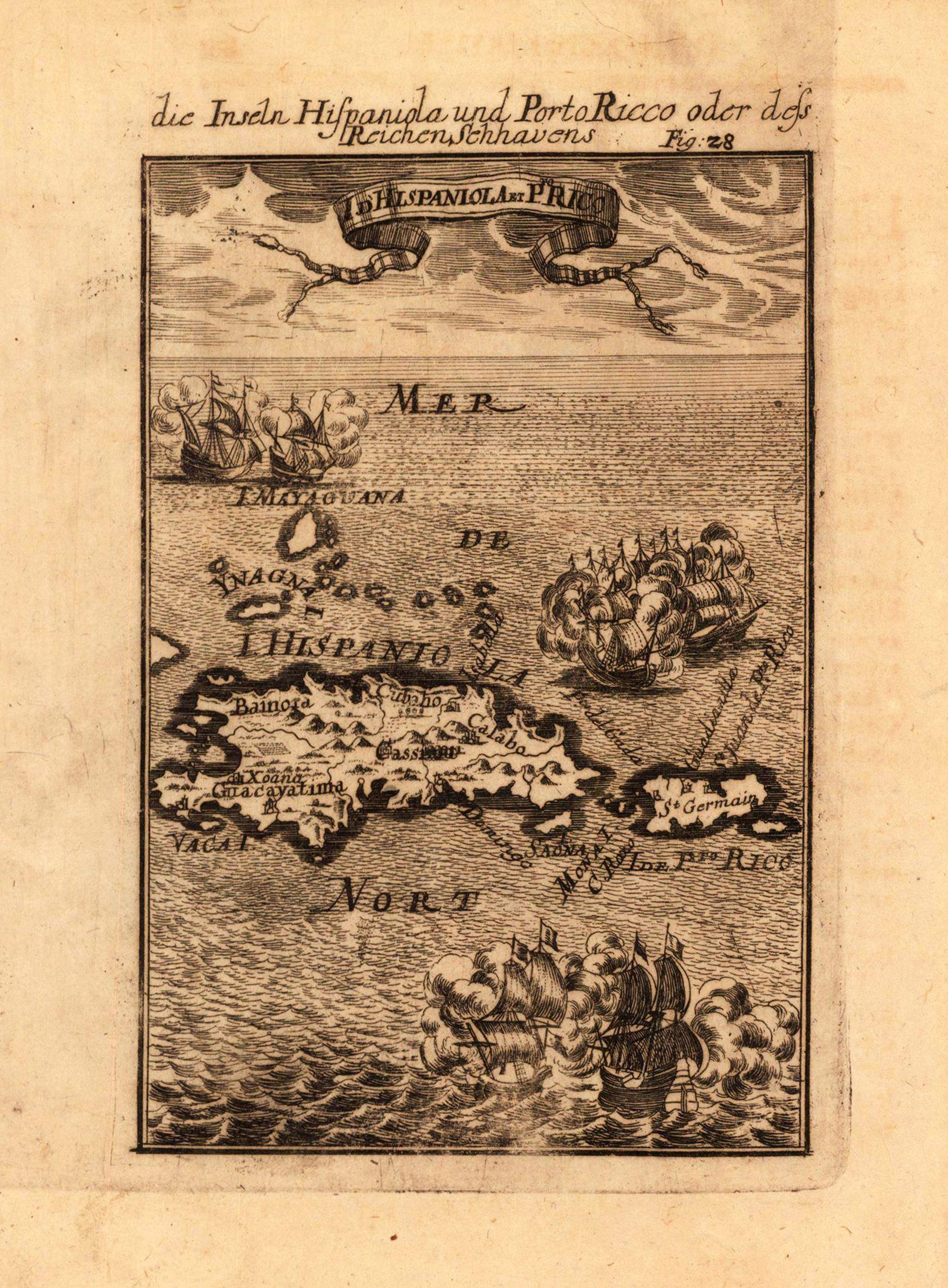 Map Porto Rico In