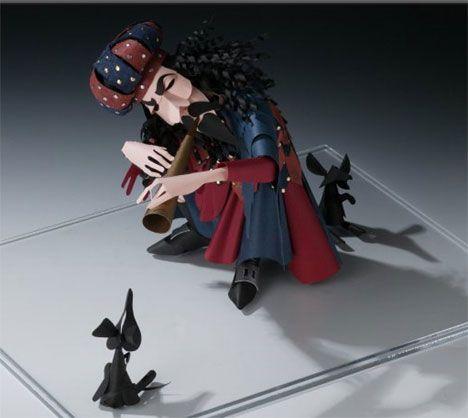 Sher Christopher – Emotive Paper Figurines