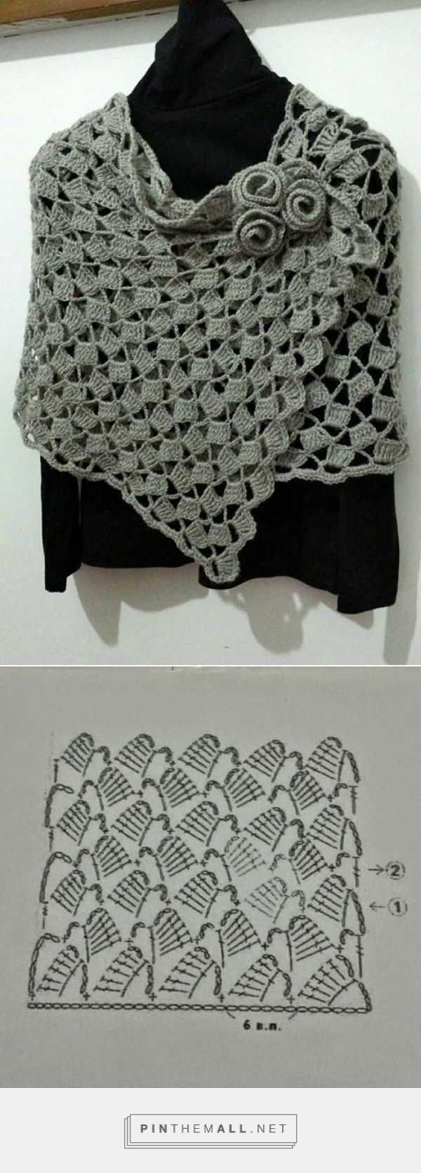 Stola Alluncinetto Uncinetto Di Meryrosy Crochet Ganchillo