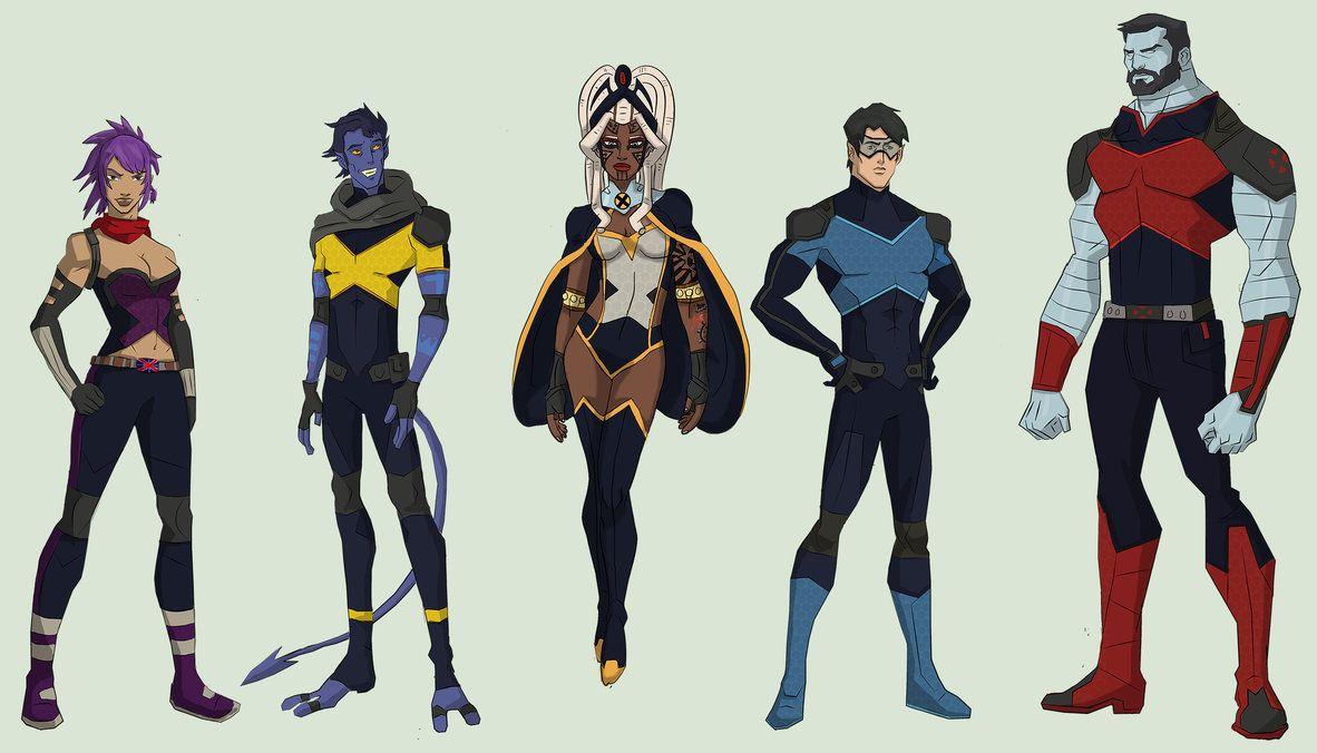 Men International: Psylocke, Nightcrawler, Storm, Northstar ...