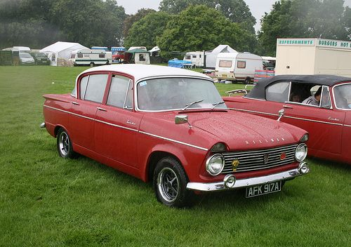 Hillman Super Minx My Dads First Car And Our First Family Car Ours Was Also Red But With A Black Stripe British Cars Classic Motors British Motors