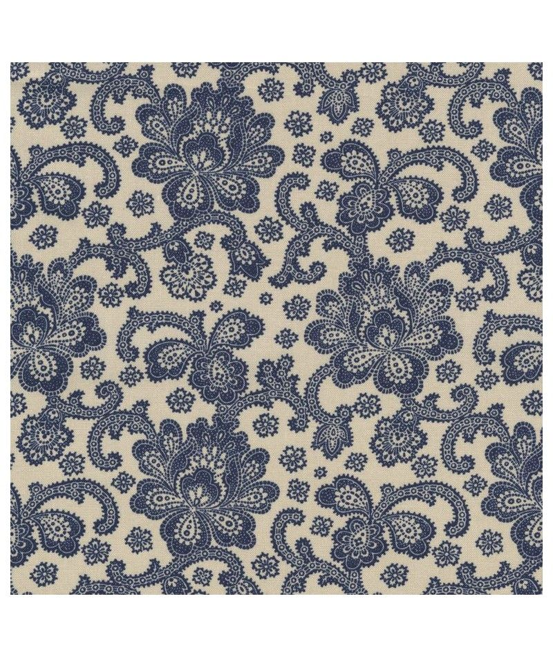 http://www.kawaiifabric.com/en/p11394-beige-fabric-with-navy-blue-Jacobean-flower-design-by-Timeless-Treasures.html