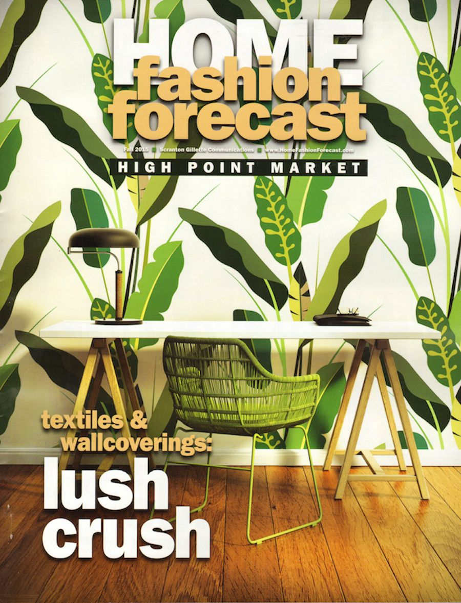 Home Fashion Forecast Is A Tabloid Size Magazine Celebrating The Best Of Furnishings And Interior Design In High Impact