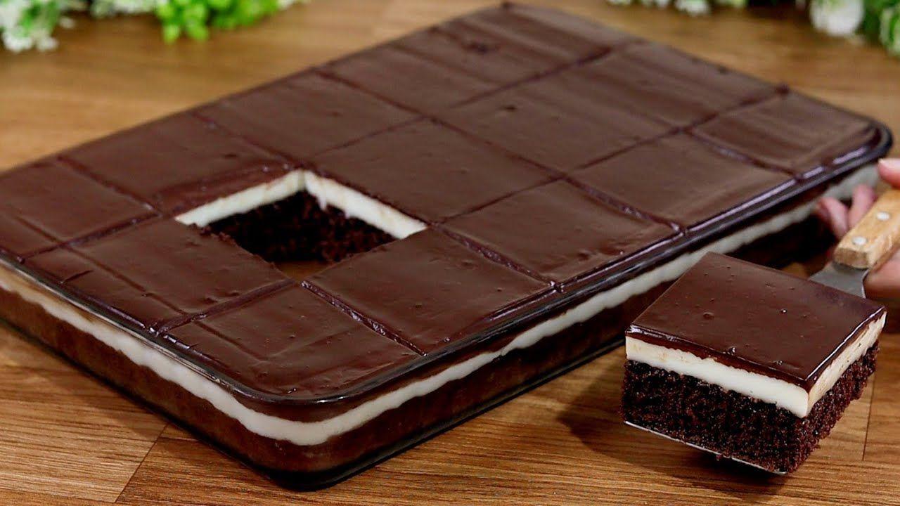 كيكة شوكولاتة بكريمة اقتصادية سهلة وسريعة في الخلاط بدون كريمة بدون شانتيه Youtube Tasty Chocolate Cake Sweet Recipes Chocolate