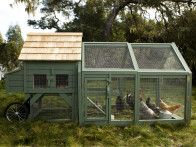 Williams-Sonoma Chicken Coop, this is on my wish list!