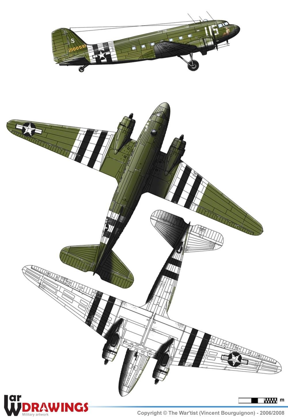Обои Дуглас c-47, американский. Авиация