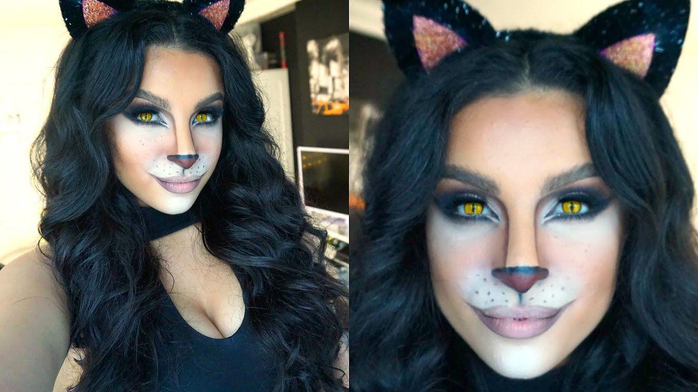 Feline Glam Halloween Makeup Tutorial 2015 Makeup By