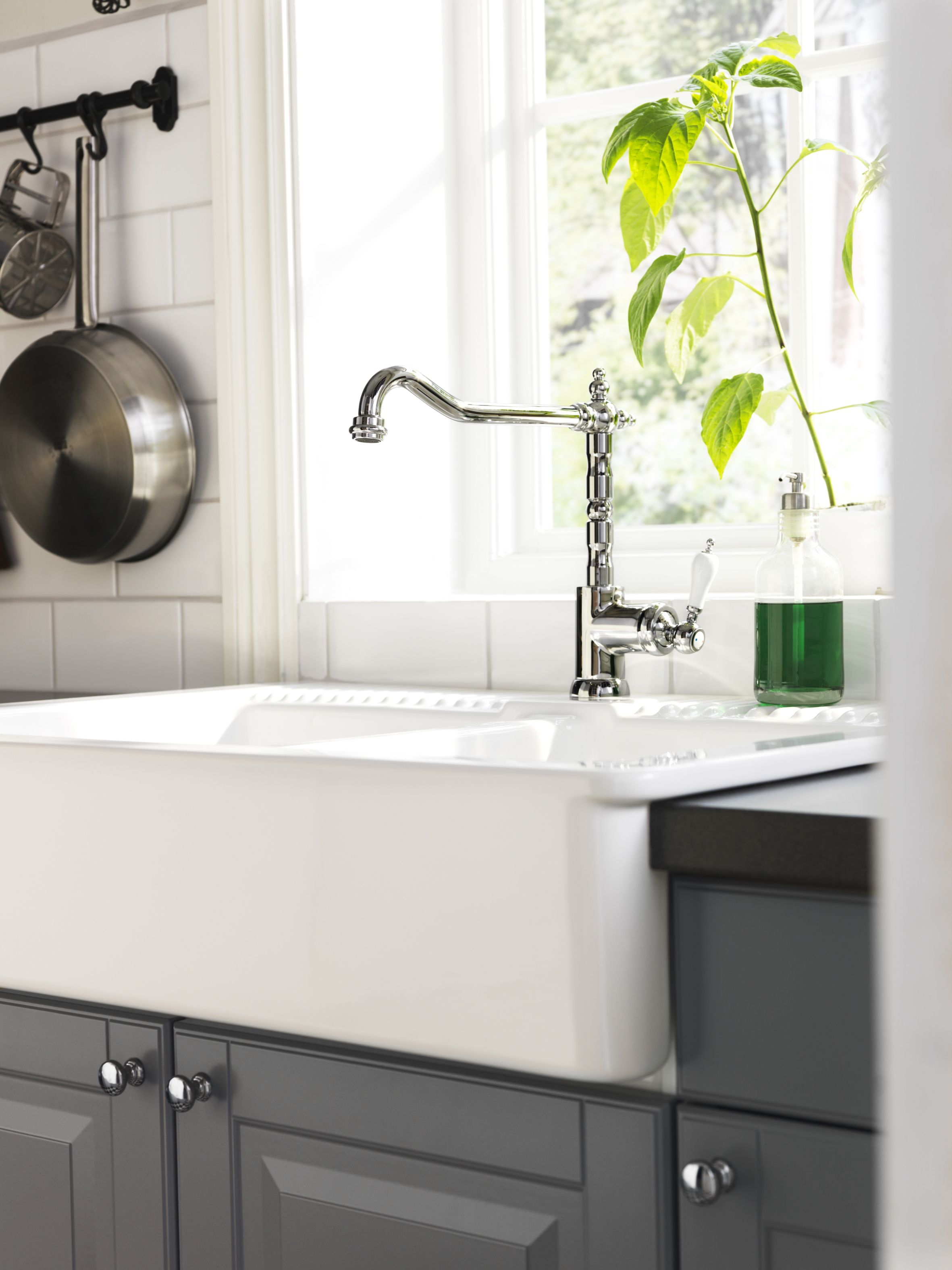 Add Style To Your Kitchen With The Chrome Plated Glittran Sink