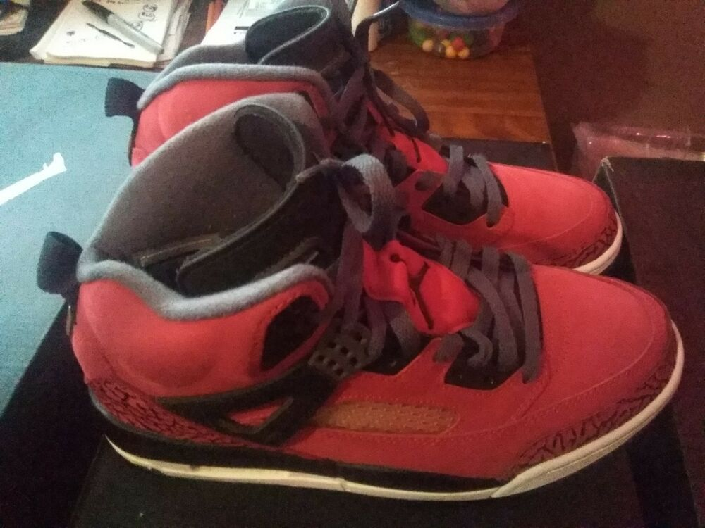 super popular f4a94 f824c Air Jordan Spizike Gym Red Black Dark Grey White w Box - Size 8.5 315371  601  fashion  clothing  shoes  accessories  mensshoes  athleticshoes (ebay  link)