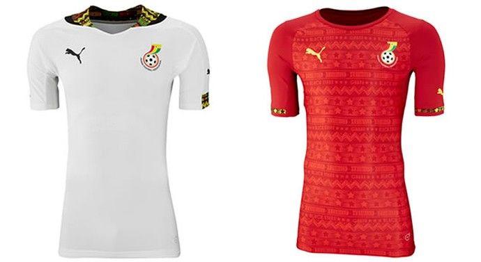 camisa de la Copa Mundial 2014 de ghana